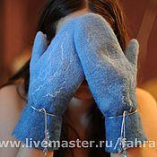 Аксессуары ручной работы. Ярмарка Мастеров - ручная работа варежки. Handmade.