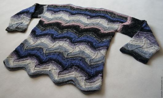 """Кофты и свитера ручной работы. Ярмарка Мастеров - ручная работа. Купить Пуловер noro """"Missoni"""". Handmade. В полоску, норо"""