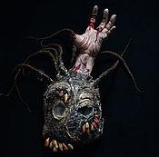 Для дома и интерьера ручной работы. Ярмарка Мастеров - ручная работа Интерьерная маска. H.P. Lovecraft. Handmade.