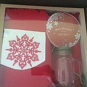 Сувениры и подарки ручной работы. Ярмарка Мастеров - ручная работа Коробка из микрогофрокартона с окном. Handmade.
