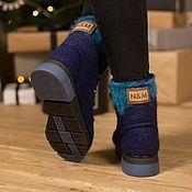 Обувь ручной работы handmade. Livemaster - original item Women`s felted Elbrus boots. Handmade.