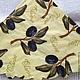 Молодые оливки на ветках-213(салфетка для декупажа).Декупажная радость.