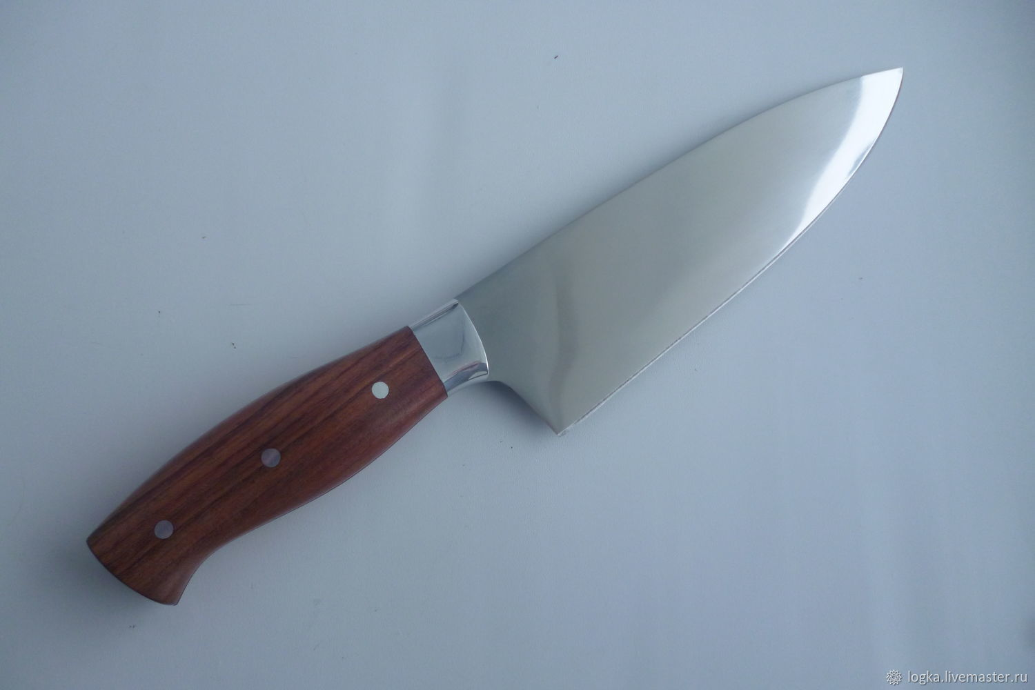 Kitchen 'Chef's knife' (mt-42) made of forged 95H18, Knives, Vyazniki,  Фото №1
