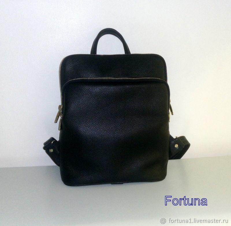 Backpack leather, Backpacks, St. Petersburg,  Фото №1