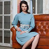 Одежда ручной работы. Ярмарка Мастеров - ручная работа Строгое нарядное платье.. Handmade.