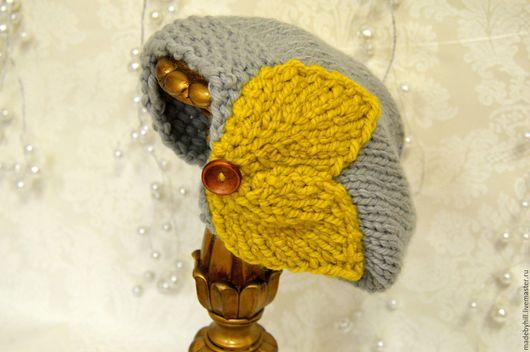 """Шапки ручной работы. Ярмарка Мастеров - ручная работа. Купить шапка """"olivia"""". Handmade. Серый, шапка вязаная, шапка зимняя"""