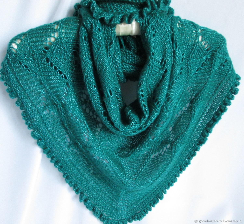 Klondike Bacchus mini shawl sea green, Scarves, Moscow,  Фото №1