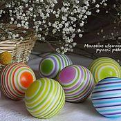 Мыльные цветные шарики ручной работы