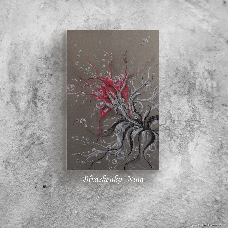 """Аленький цветочек"""" графика (32х50), Картины, Белгород,  Фото №1"""