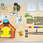 Куклы и игрушки handmade. Livemaster - original item Educational Module Board Baseband