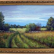 Картины и панно ручной работы. Ярмарка Мастеров - ручная работа Травы луговые, сенокосная пора.... Handmade.