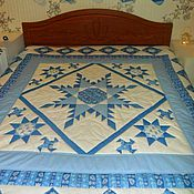 Для дома и интерьера ручной работы. Ярмарка Мастеров - ручная работа Лоскутное одеяло. Handmade.