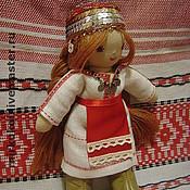 """Куклы и игрушки ручной работы. Ярмарка Мастеров - ручная работа Чувашечка """"Нарспи"""" 22 см кукла народная национальная вальдор. Handmade."""