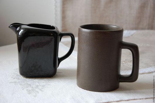 Винтажная посуда. Ярмарка Мастеров - ручная работа. Купить Винтажная пивная керамическая кружка. Handmade. Коричневый, старинная пивная кружка