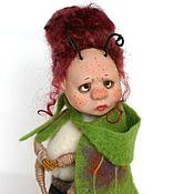 Куклы и игрушки ручной работы. Ярмарка Мастеров - ручная работа Авторская кукла - бабочка Мона. Handmade.