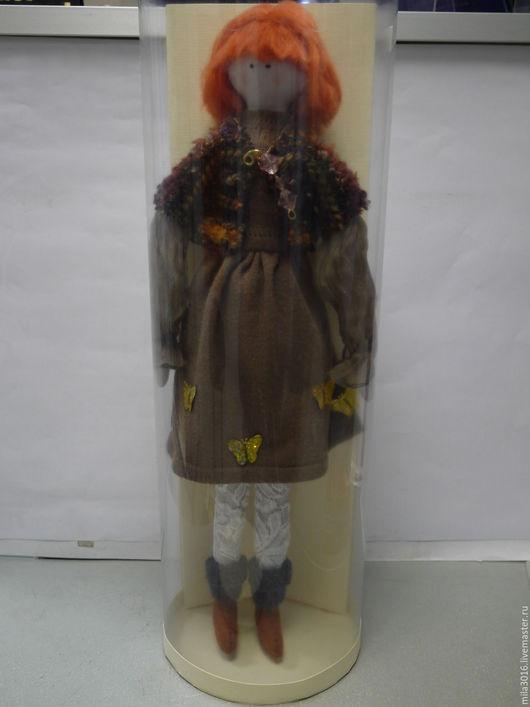 Куклы тыквоголовки ручной работы. Ярмарка Мастеров - ручная работа. Купить Кукла Ия. Handmade. Коричневый, кукла ручной работы