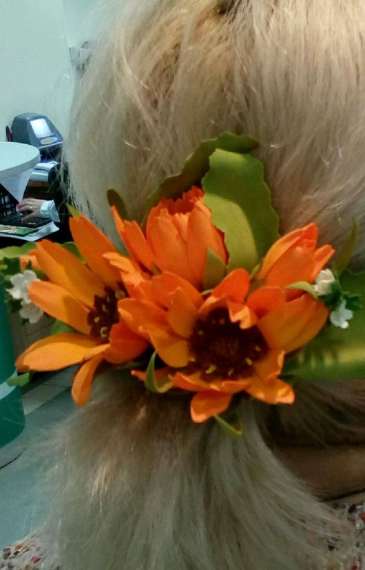 Заколки ручной работы. Ярмарка Мастеров - ручная работа. Купить Заколка для волос. Handmade. Летнее настроение, яркая, фоамиран