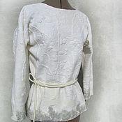 """Одежда ручной работы. Ярмарка Мастеров - ручная работа Кофточка """"Ледяная крошка"""". Handmade."""