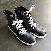 Обувь ручной работы handmade. Livemaster - original item High-top sneakers