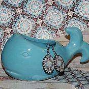 """Украшения ручной работы. Ярмарка Мастеров - ручная работа Серьги """"Марокко"""". Handmade."""