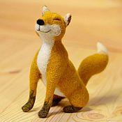Куклы и игрушки handmade. Livemaster - original item Felt toy Sly Fox. Handmade.
