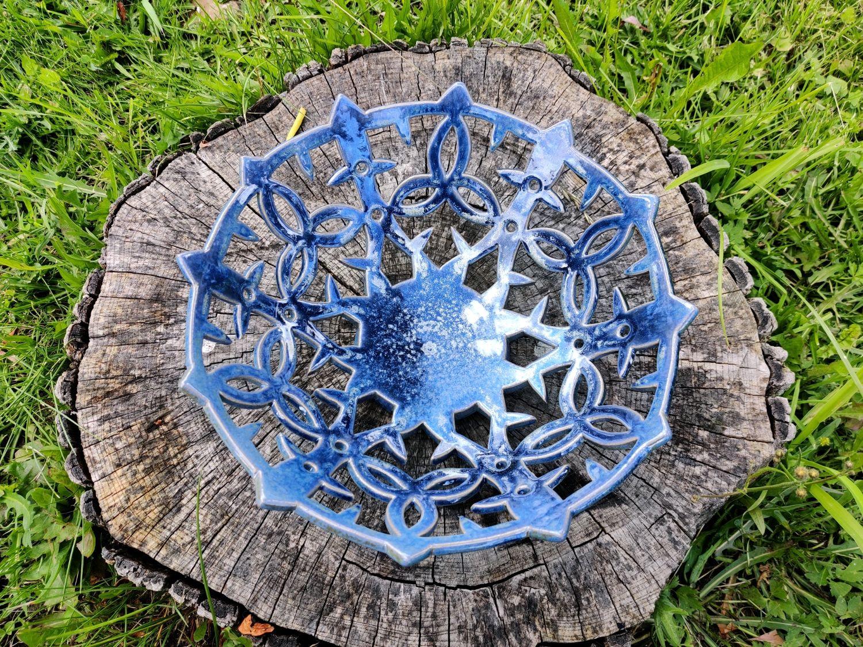 Carved fruit dish ' Celtic motifs', Plates, Sergiev Posad,  Фото №1