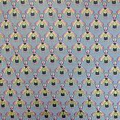 Ткани ручной работы. Ярмарка Мастеров - ручная работа Ткань жаккардовая с пчёлами. Handmade.