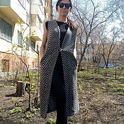 Одежда handmade. Livemaster - original item Coat-vest coat Italy. Handmade.