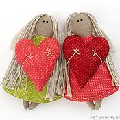 Куклы и игрушки ручной работы. Ярмарка Мастеров - ручная работа Сердечные Ангелы. Handmade.
