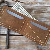 Сумки и аксессуары handmade. Livemaster - original item Wallets: Bifold classic. Handmade.