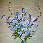 Цветы и флористика ручной работы. Ярмарка Мастеров - ручная работа Душистый горошек. Handmade.