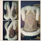 Одежда ручной работы. Ярмарка Мастеров - ручная работа Жилет из песца белого. Handmade.