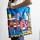 Bags & Accessories handmade. Bag 'City'. Crowhouse. Online shopping on My Livemaster. The bag, bright accessory