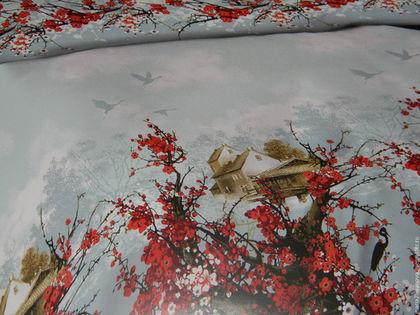 """Текстиль, ковры ручной работы. Постельное белье из бязи """"Раннее утро"""". Лен, бязь, поплин из Иваново (maria29ivanovo). Интернет-магазин Ярмарка Мастеров."""
