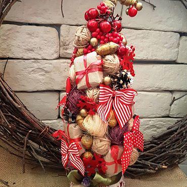 """Сувениры и подарки ручной работы. Ярмарка Мастеров - ручная работа Елка """" Праздник """". Handmade."""
