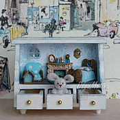 Куклы и игрушки handmade. Livemaster - original item House-shelf with a Bunny. Handmade.