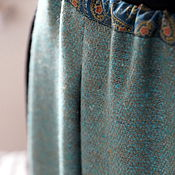 Одежда ручной работы. Ярмарка Мастеров - ручная работа Понёва юбка вседневная шерстяная. Handmade.