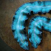 handmade. Livemaster - original item Delicate felted scarf