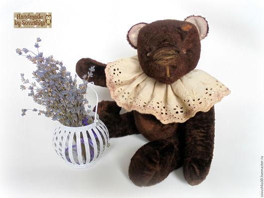 Мишки Тедди ручной работы. Ярмарка Мастеров - ручная работа. Купить Винтажный тедди мишка Бруно 32см. - авторский. Handmade.