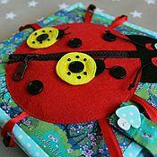 """Куклы и игрушки ручной работы. Ярмарка Мастеров - ручная работа Книжка """"Божья коровка"""". Handmade."""