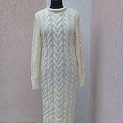 Одежда ручной работы. Ярмарка Мастеров - ручная работа платье вязаное ручной работы. Handmade.