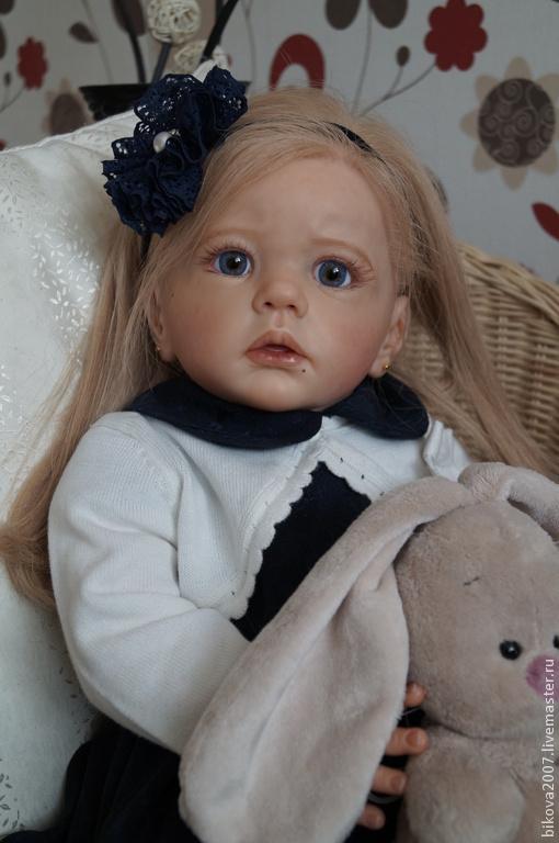 Куклы-младенцы и reborn ручной работы. Ярмарка Мастеров - ручная работа. Купить Анюта. Handmade. Тёмно-синий, генезис