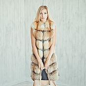 Одежда handmade. Livemaster - original item Real Fur Vest Women. Handmade.