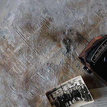 """Материалы для творчества ручной работы. Ярмарка Мастеров - ручная работа Фотофон под бетон """"Старая стена"""" фактурный двухсторонний. Handmade."""