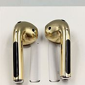 Украшения handmade. Livemaster - original item Golden AirGolds 2 headphones. Gold 750.. Handmade.