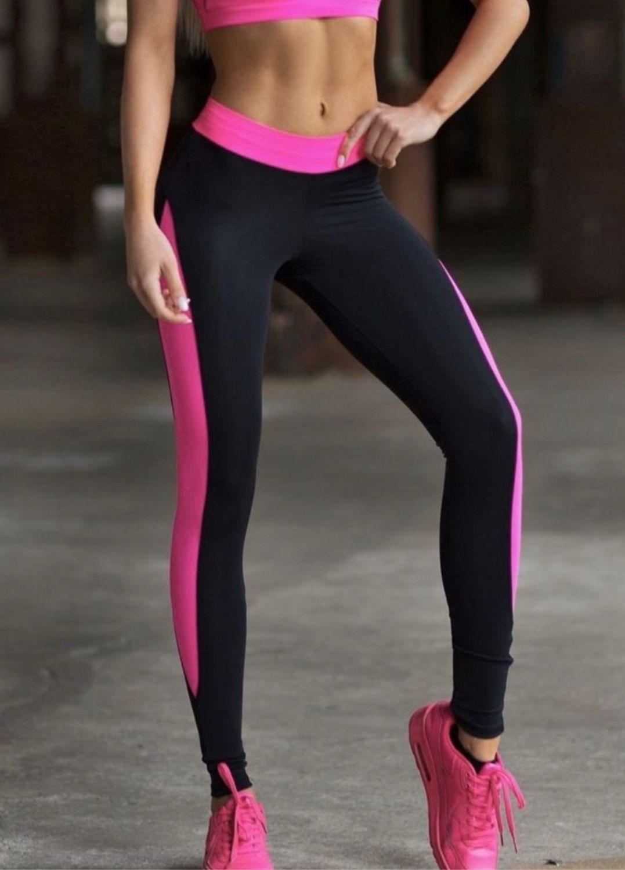 Спортивные Лосины/ леггинсы Designed for Fitness Basic Pink, Спортивные костюмы, Москва,  Фото №1