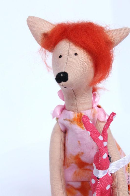Куклы Тильды ручной работы. Ярмарка Мастеров - ручная работа. Купить Лисенок в стиле Тильда. Handmade. Рыжий, подарок ребенку