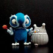 Мягкие игрушки ручной работы. Ярмарка Мастеров - ручная работа Сов Афоня. Handmade.