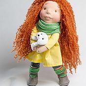 Вальдорфские куклы и звери ручной работы. Ярмарка Мастеров - ручная работа Вальдорфская текстильная кукла Адель. Handmade.