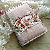 Канцелярские товары ручной работы. Ярмарка Мастеров - ручная работа Бэби-бук для девочки. Handmade.